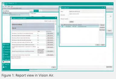 Metrohm Vis-NIR spectroscopy software Vision Air Report View